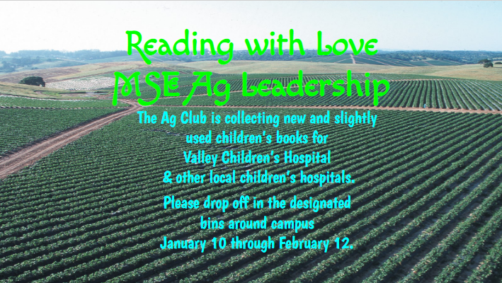 Reading with Love Book Drive