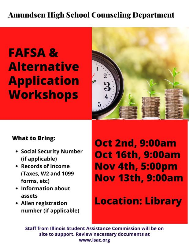 Upcoming FAFSA Workshops Featured Photo