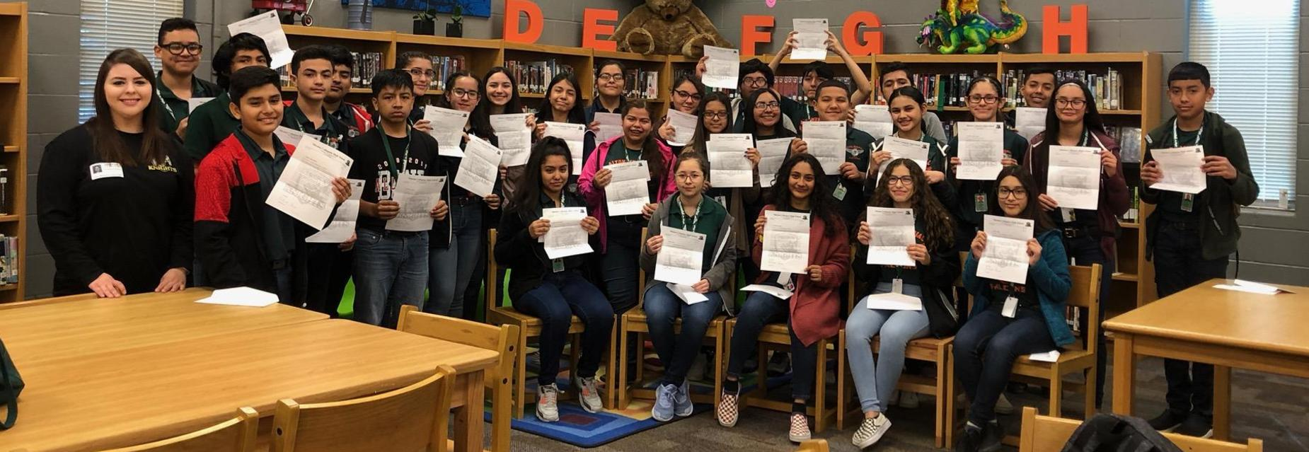 AMJH 2019-2020 Collegiate acceptance letter recipients