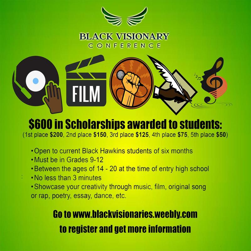 Black Visionaries Scholarship Applications Now Open Featured Photo