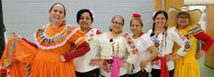 Our cafeteria ladies celebrate Cinco de Mayo
