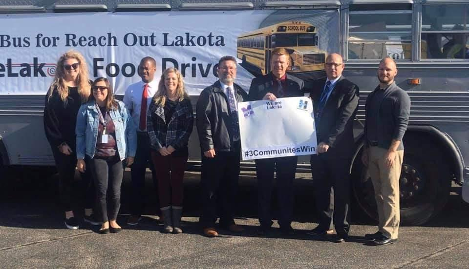 Middletown and Lakota Success programs team up with school districts for food drive