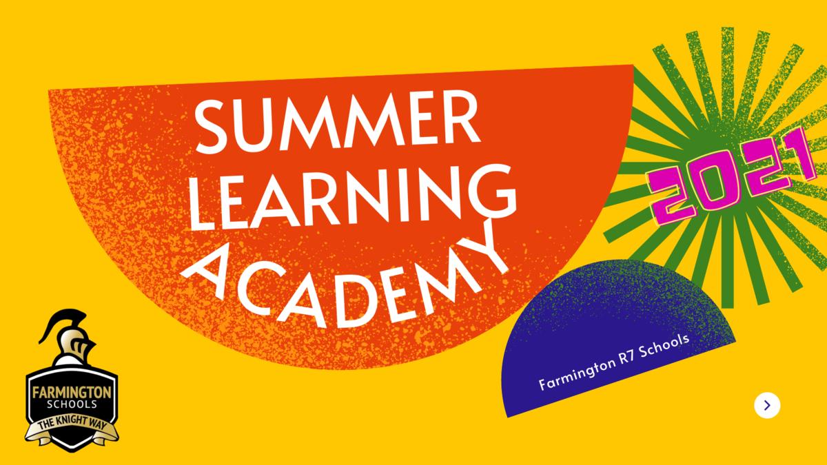 Summer Learning Academy 2021
