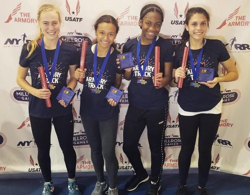 SHA Sprint Medley Relay Qualifies for Nationals Featured Photo