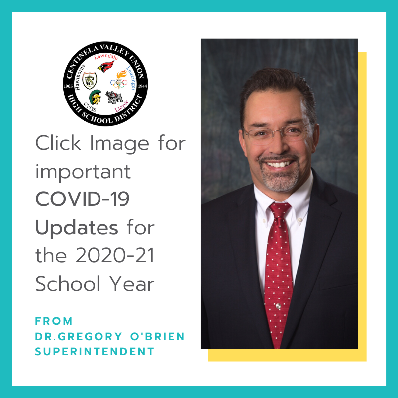 2020-21 School Year COVID-19 Updates Featured Photo