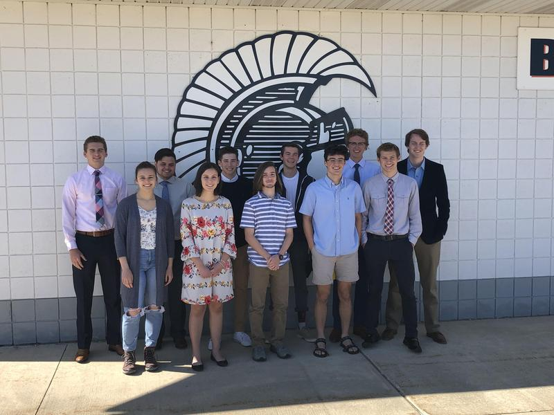 TKHS Class of 2019 Top 11 students.
