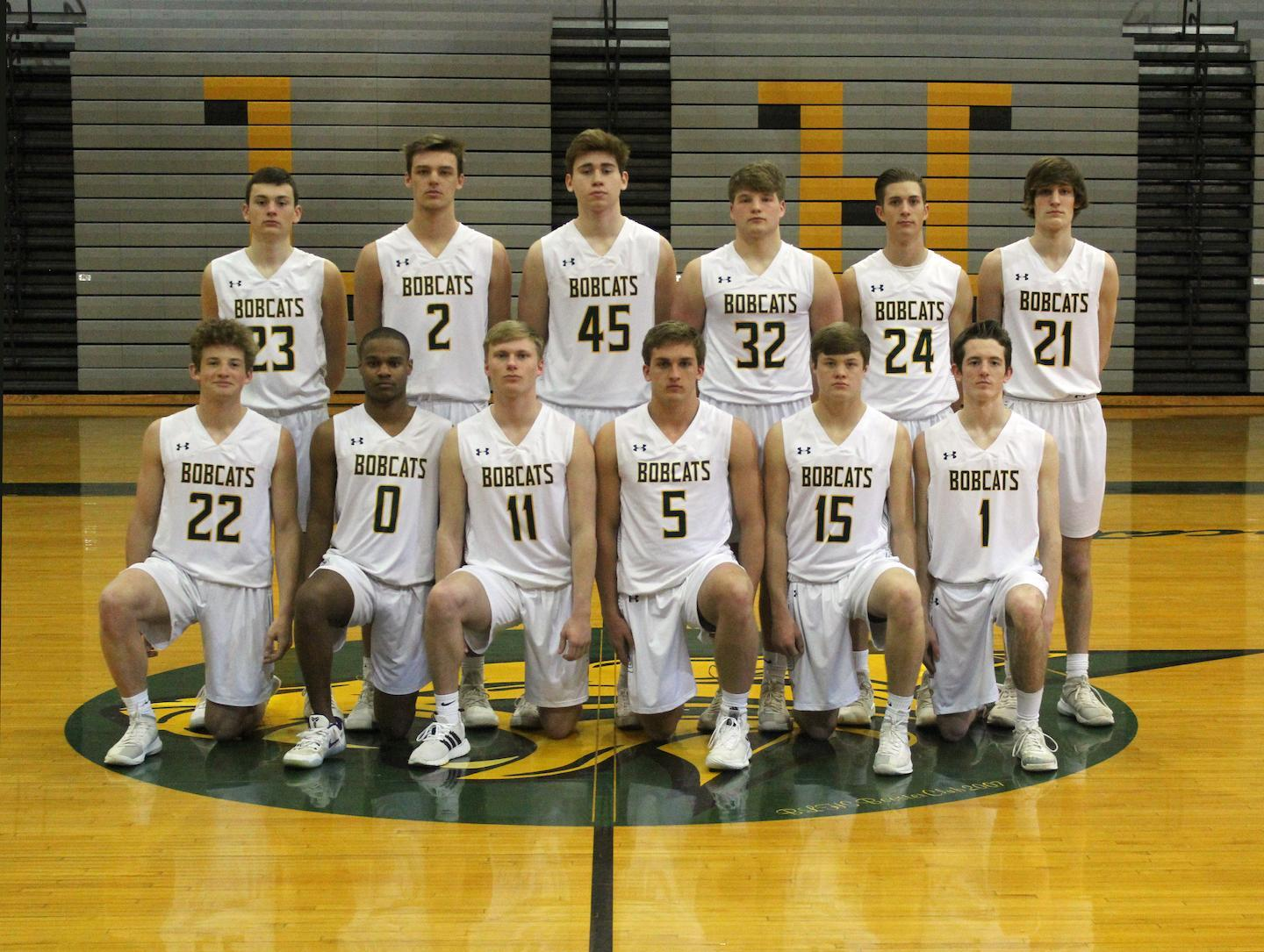 2019 BLHS Men's Basketball Group Photo