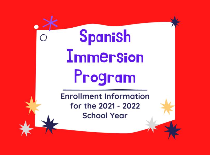 Spanish Immersion Info