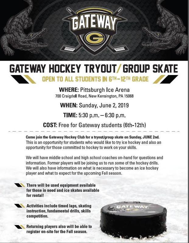 Gateway Hockey Tryout/Group Skate Thumbnail Image