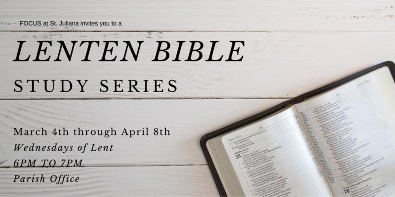 Lenten Bible Study Series Featured Photo
