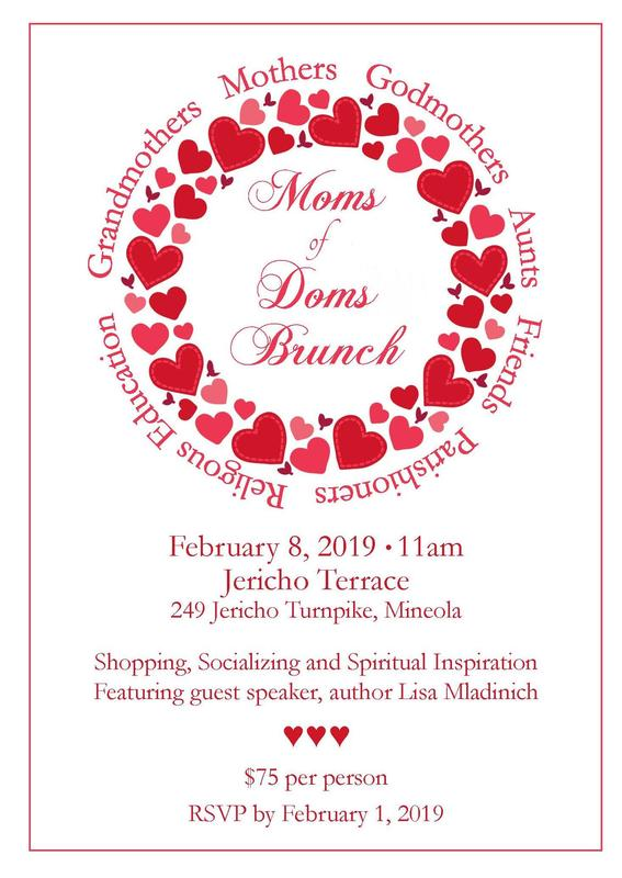 Moms of Doms Brunch Featured Photo