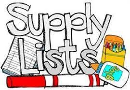 Supply List Available Thumbnail Image