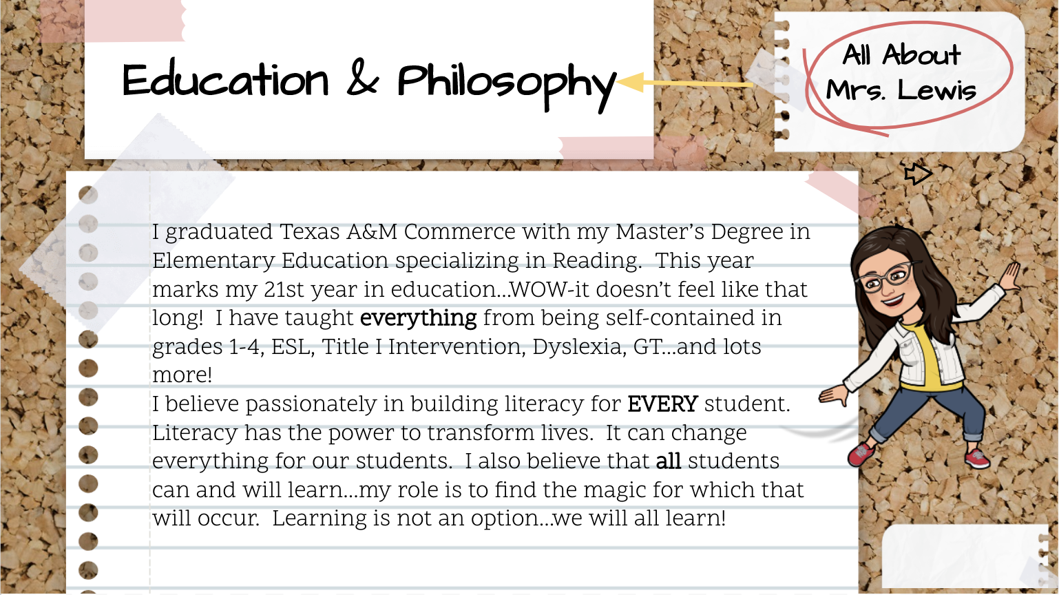 Education & Philosophy