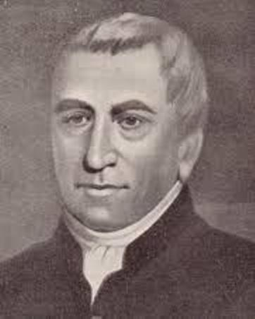 pencil drawing of Brother Edmund Rice