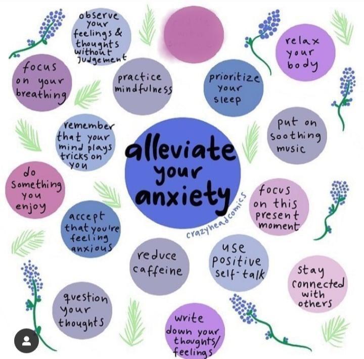 Alleviate Anxiety