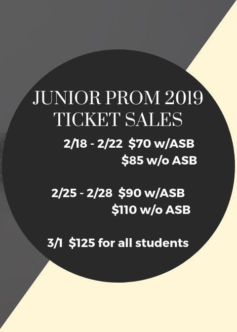 Junior Prom Tickets On Sale NOW! Featured Photo