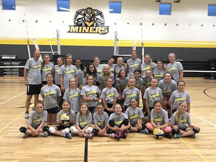 2018 Volleyball Camp
