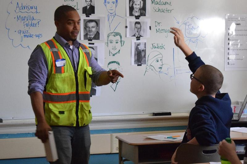 CMS students learn from pros on Career Day Thumbnail Image