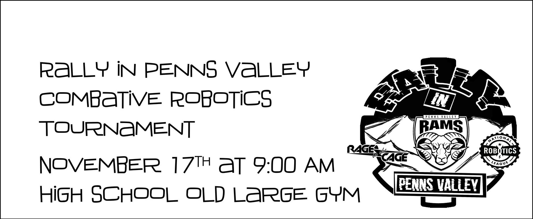 battlebots november 17 9 am high school old big gym