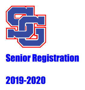Senior Registration for 2019-2020 Featured Photo