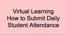 STUDENTS: Click Here For a Tutorial on Submitting Daily Attendance Featured Photo