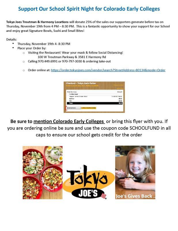 CEC Dines Out Flyer