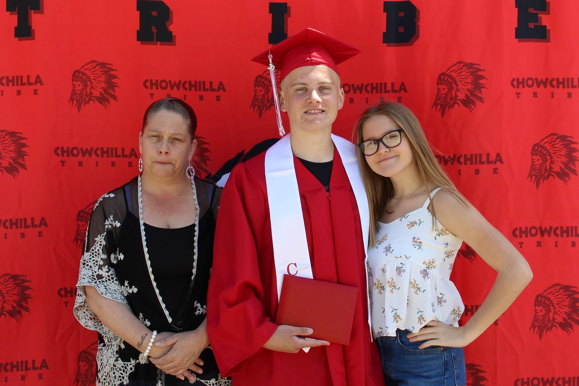 Dawson Lucas and Family