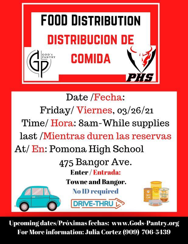 Drive Thru on 3/26 8AM until supplies last