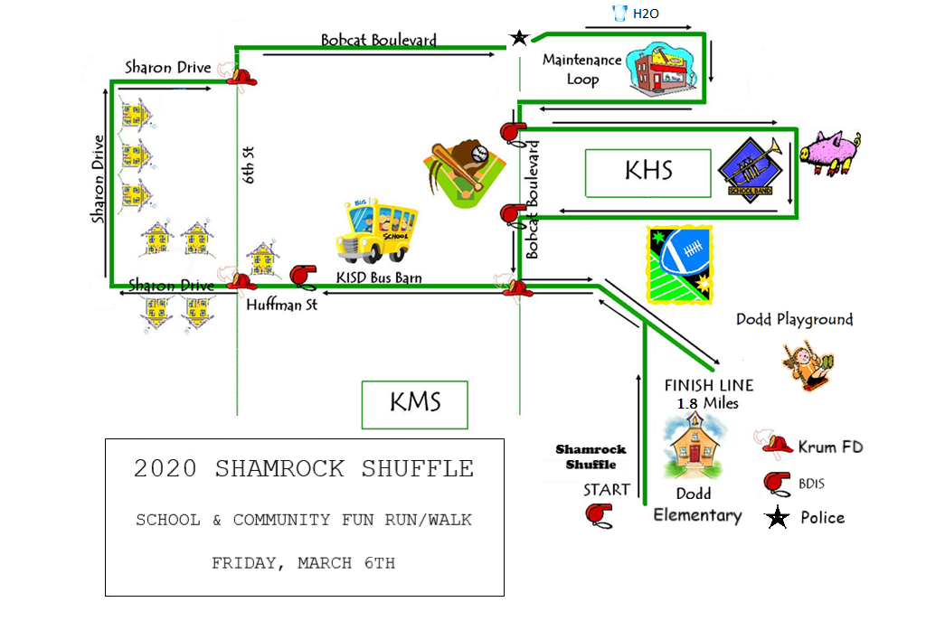 4th and 5th grade map