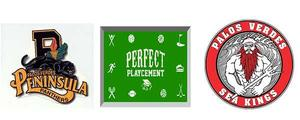 Peninsula HS logo-Perfect Playcement logo-PVHS logo