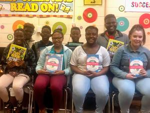O'Steen Subaru book donation to NMS