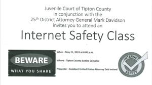 Community Internet Class May 21st