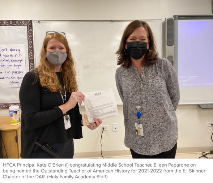 Behind HFCA's Award Winning Students is an Award Winning Teacher Featured Photo