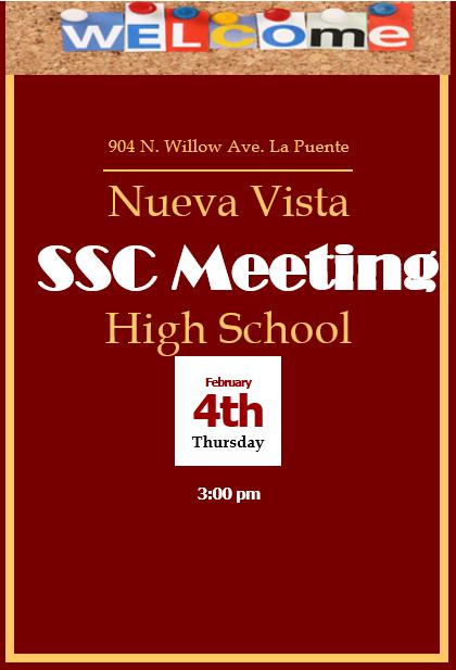 SSC meeting