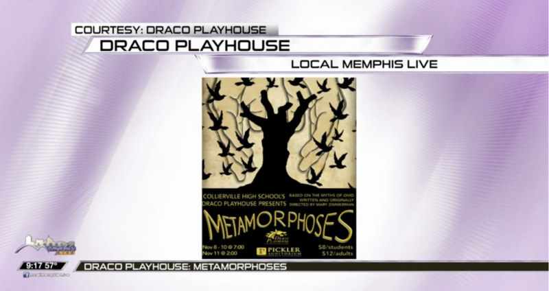 Local Memphis Live Highlights Draco Playhouse Production of Metamorphoses Featured Photo