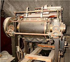 #ThrowbackThursday: Image of the NY Point Interlinear Embossing Machine
