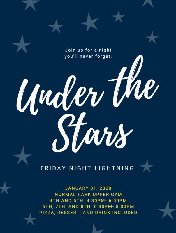 Friday Night Lightning 1/31 Under the Stars Featured Photo