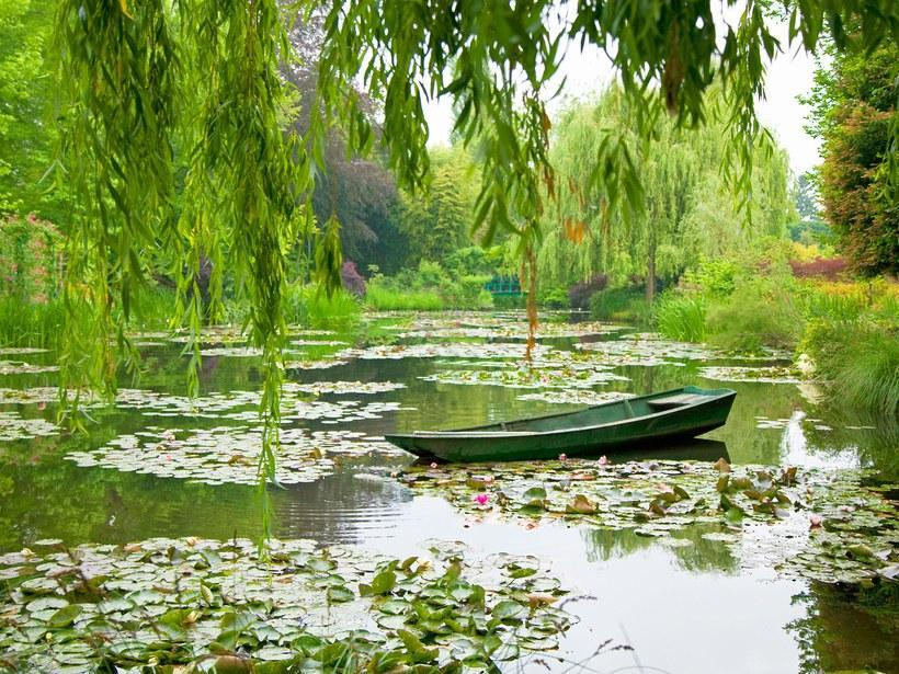The gardens of Claude Monet at Giverny
