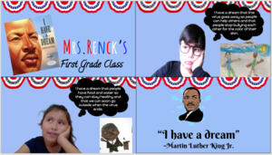 I have a dream students collage