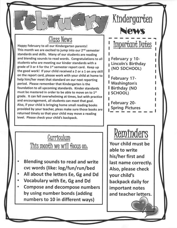 Preview of picture of newsletter, please see attached PDF