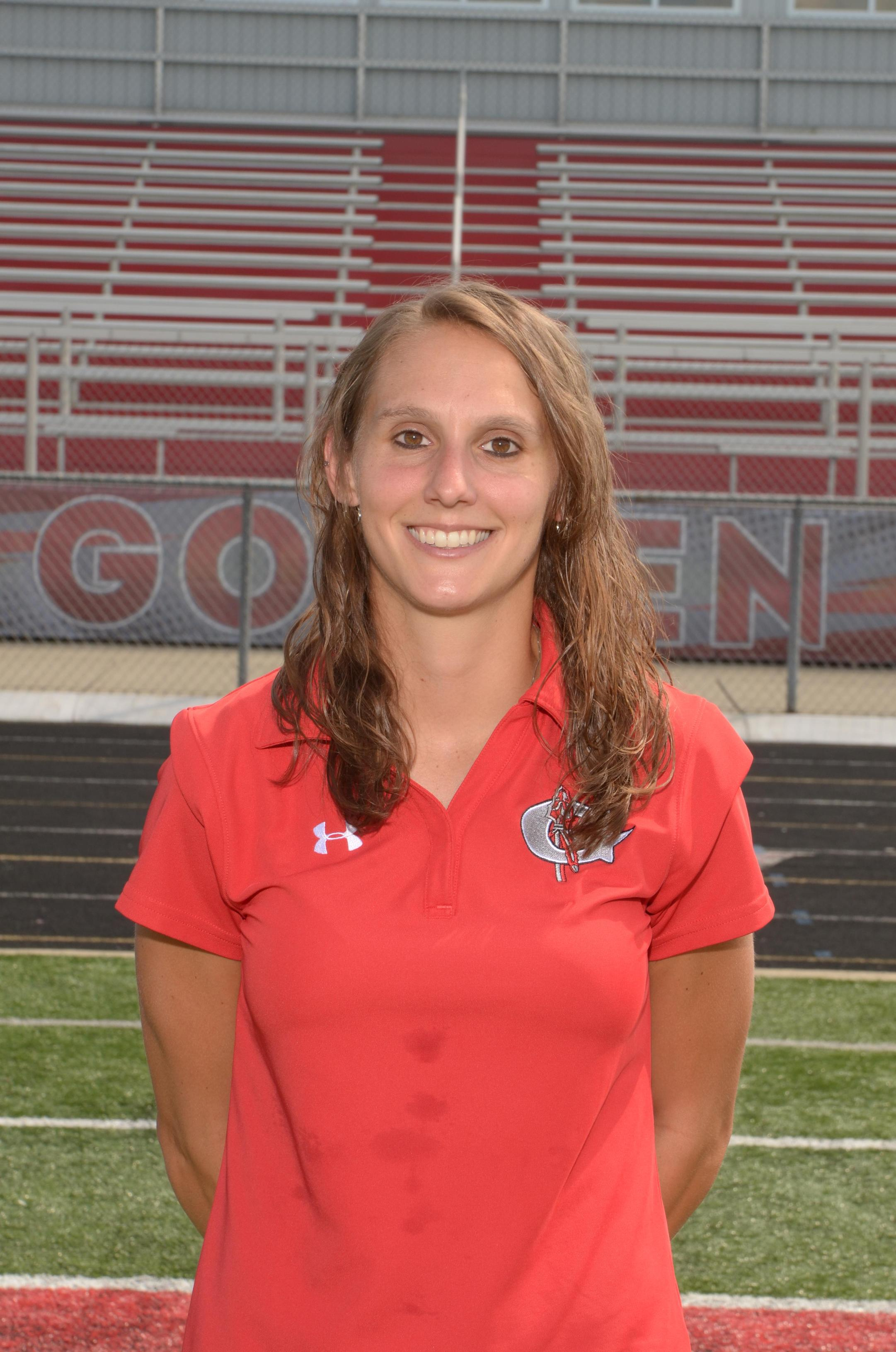 Coach Megan Johnson