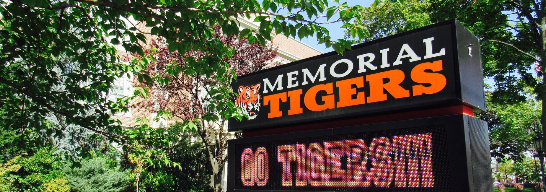 memorial go tigers