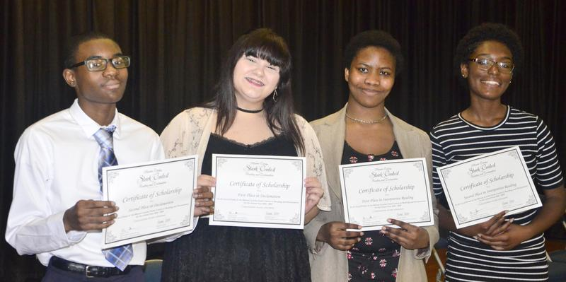WOS High School Stark Reading Contest Winners