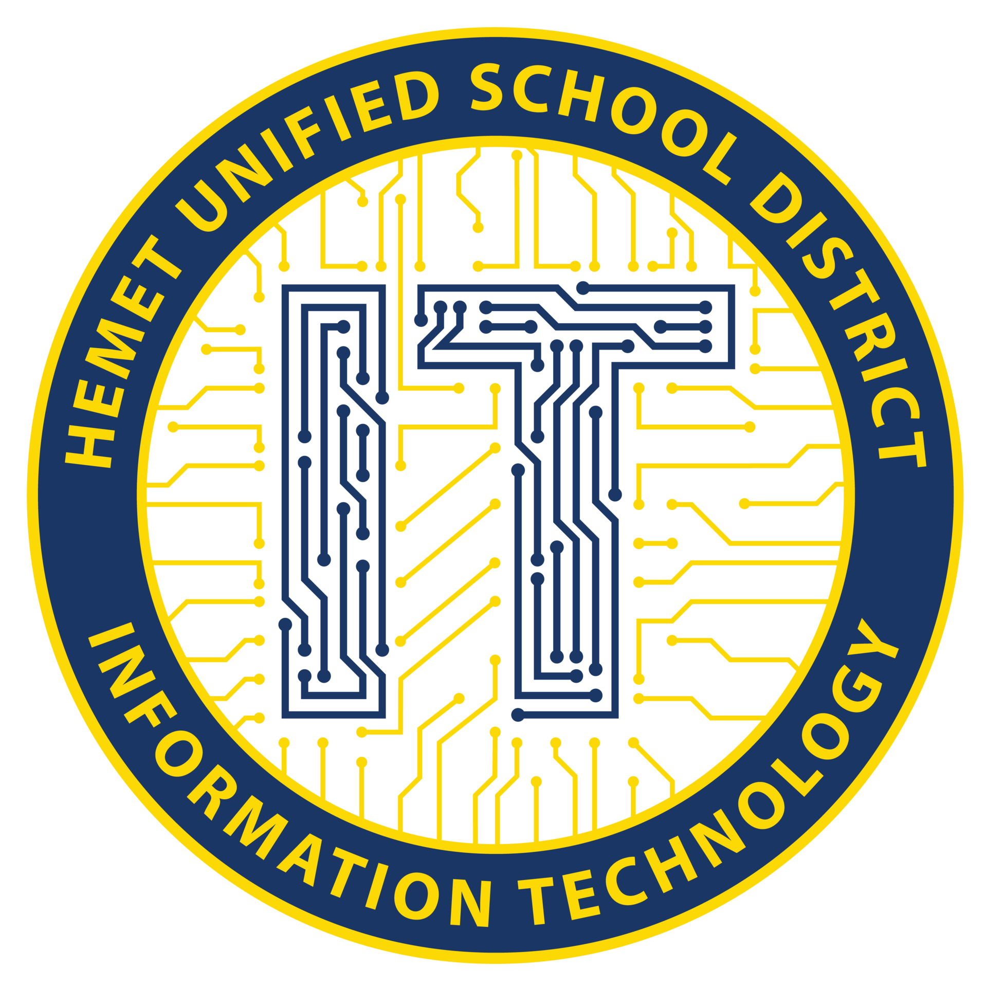Hemet USD's IT Logo