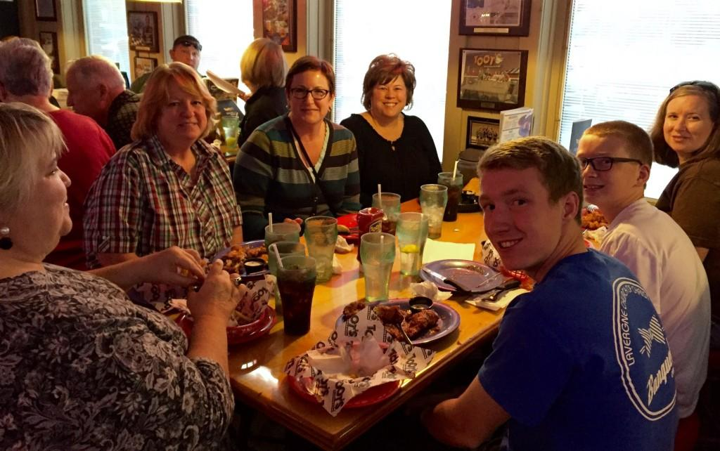 RCS School Nurses, family and friends gather at Toots for a good cause - Special Olympics!