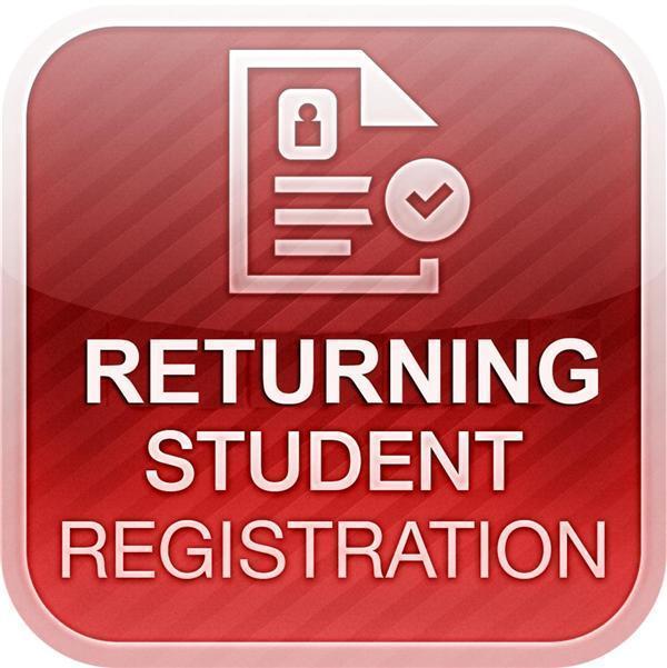 Returning Student Registration Featured Photo
