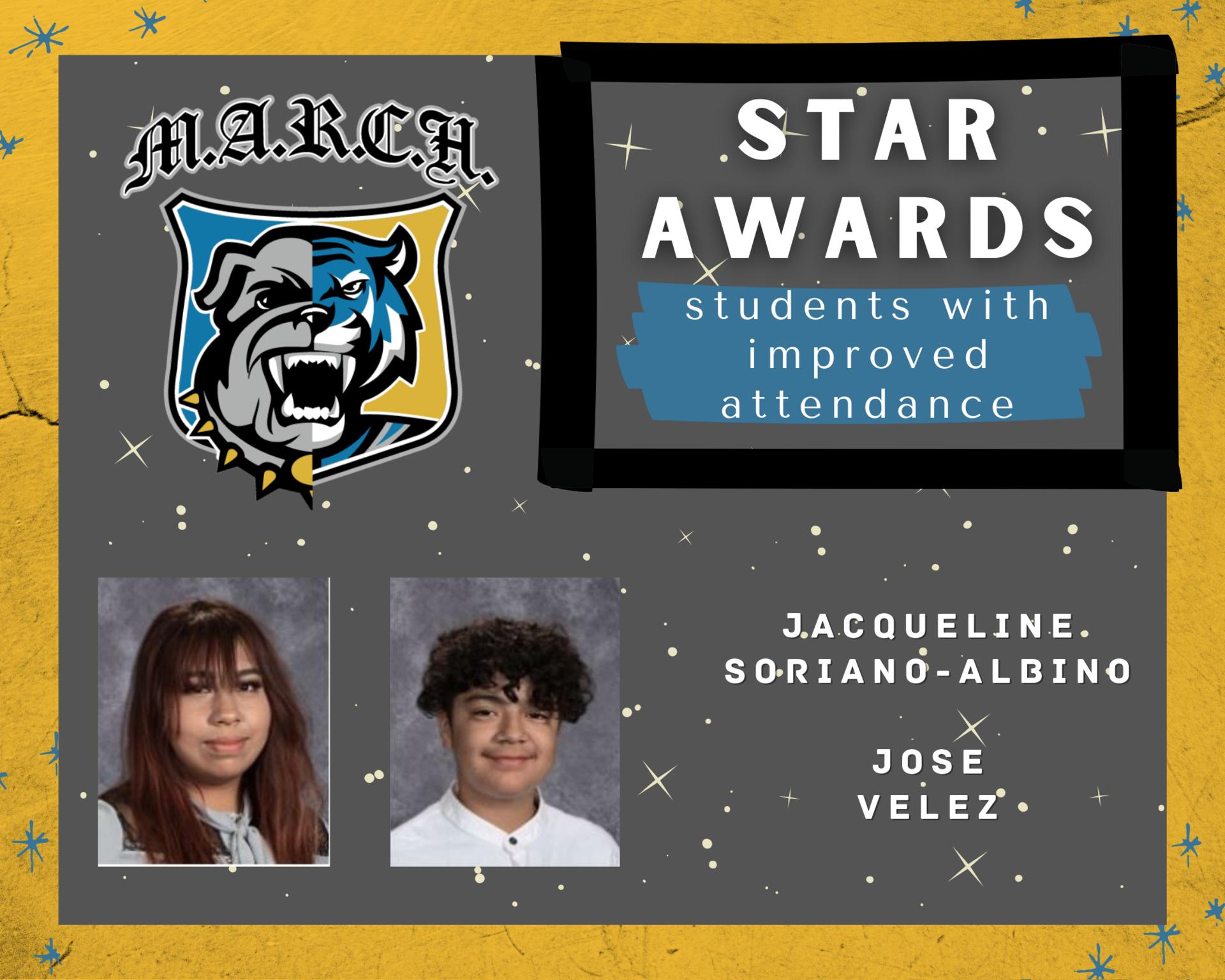 Team MARCH: STAR Awards-Week 6