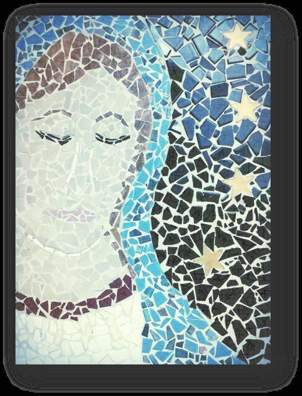 Mosaic of Mary