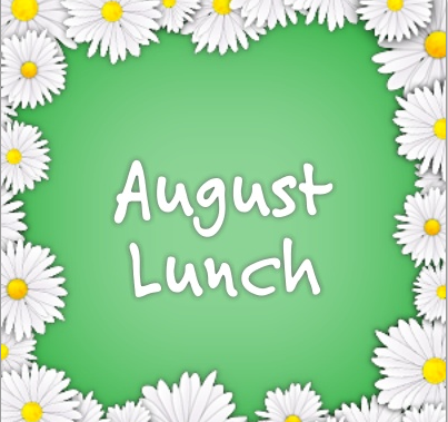 August Lunch Menu Featured Photo