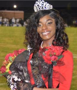 A photo of Miss Senior & Baker High School 2020 Homecoming Queen: Kevaneisha Stewart